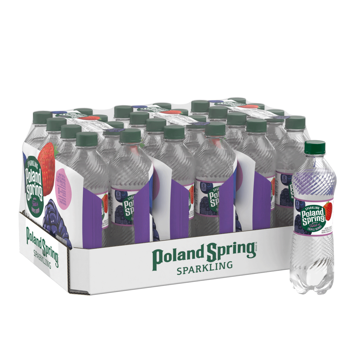 Poland Spring® Triple Berry Sparkling Water
