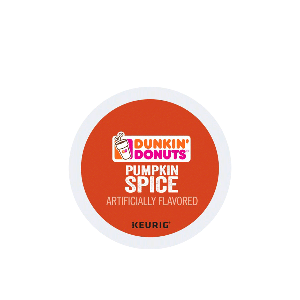 dunkin donuts k cup pumpkin spice coffee pod Image1