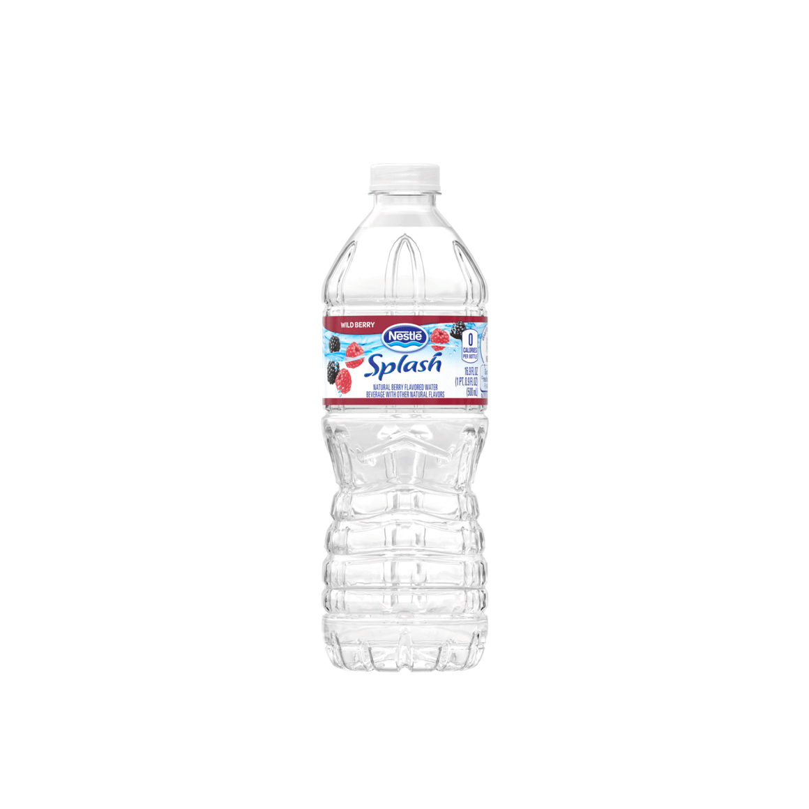 Nestlé® Splash Natural Wild Berry Flavored Water Image2