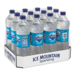 Ice Mountain® Brand Sparkling 100% Natural Spring Water - Simply Bubbles