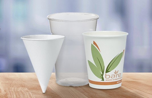 Choose from a Variety of Hot and Cold Cups!