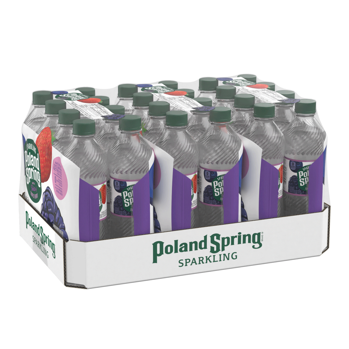 Poland Spring® Triple Berry Sparkling Water Image1