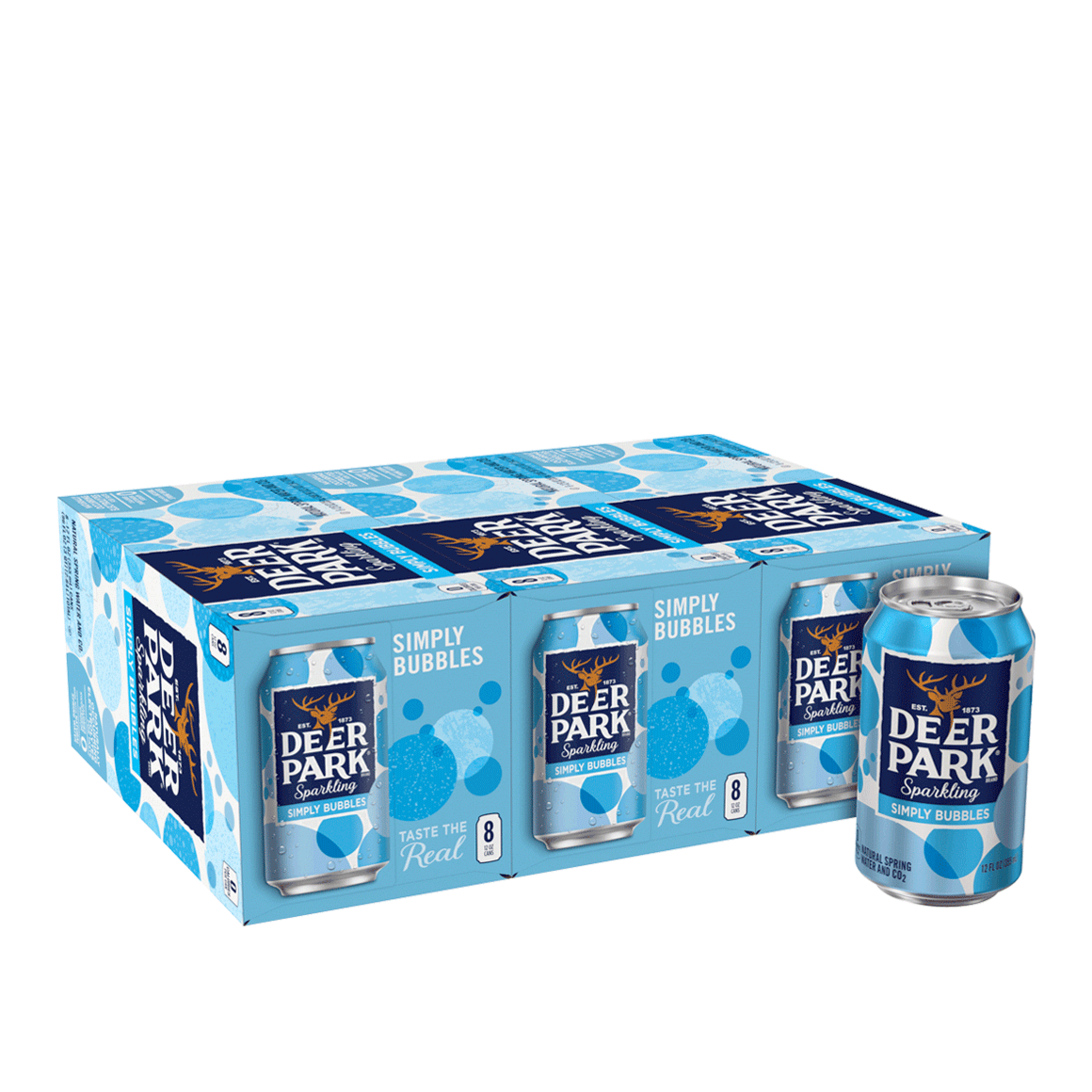 Deer Park® Simply Bubbles Sparkling Water