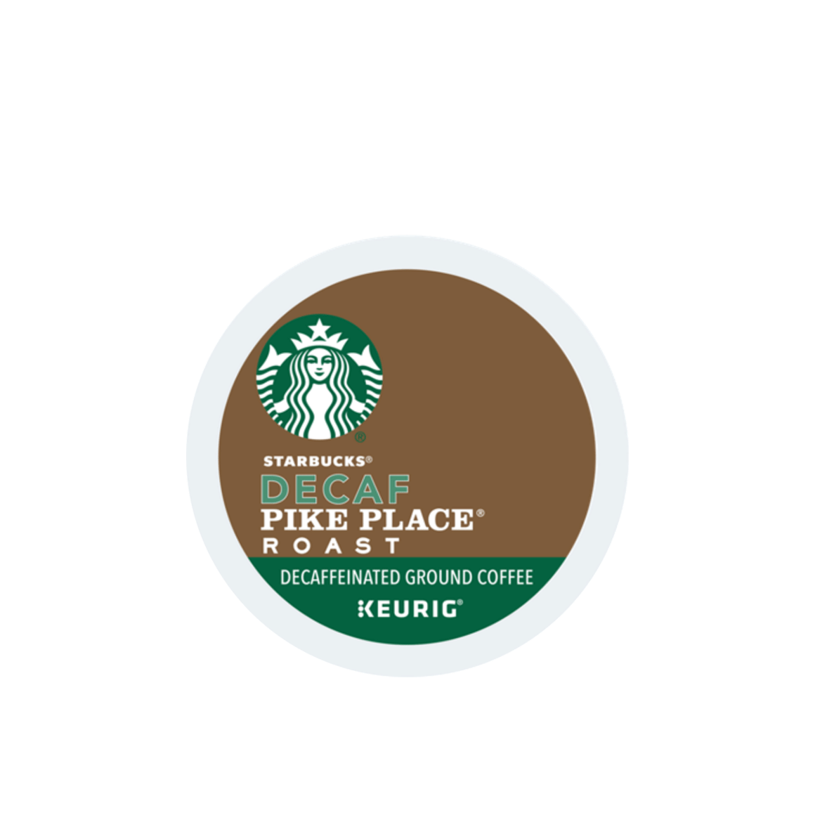 starbucks k cup decaf pike place coffee pod Image1