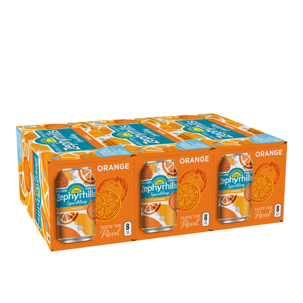 Zephyrhills® Orange Sparkling Water Image1