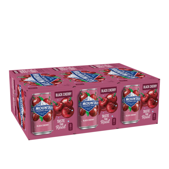 Ice Mountain® Black Cherry Sparkling Water