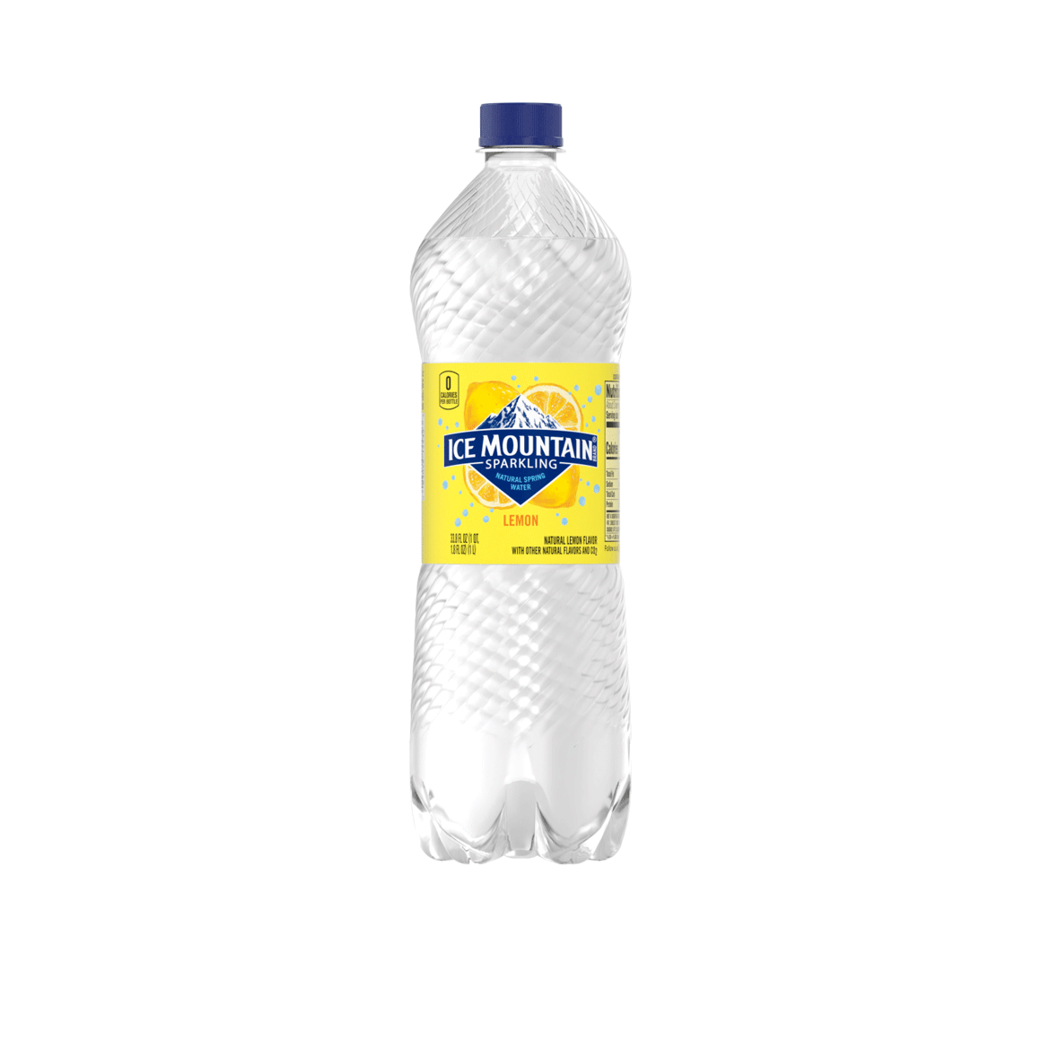 Ice Mountain® Brand Sparkling 100% Natural Spring Water - Lively Lemon Image2