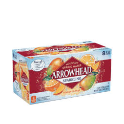 Arrowhead® Brand Sparkling 100% Mountain Spring Water - Orange Mango