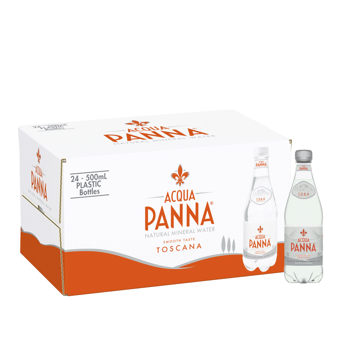 Acqua Panna® Natural Spring Water - Plastic