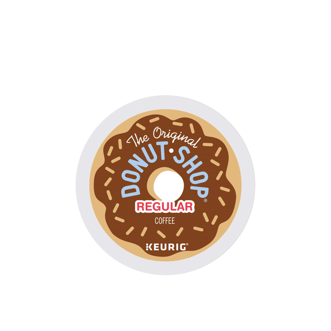 donut shop k cup coffee pod Image1