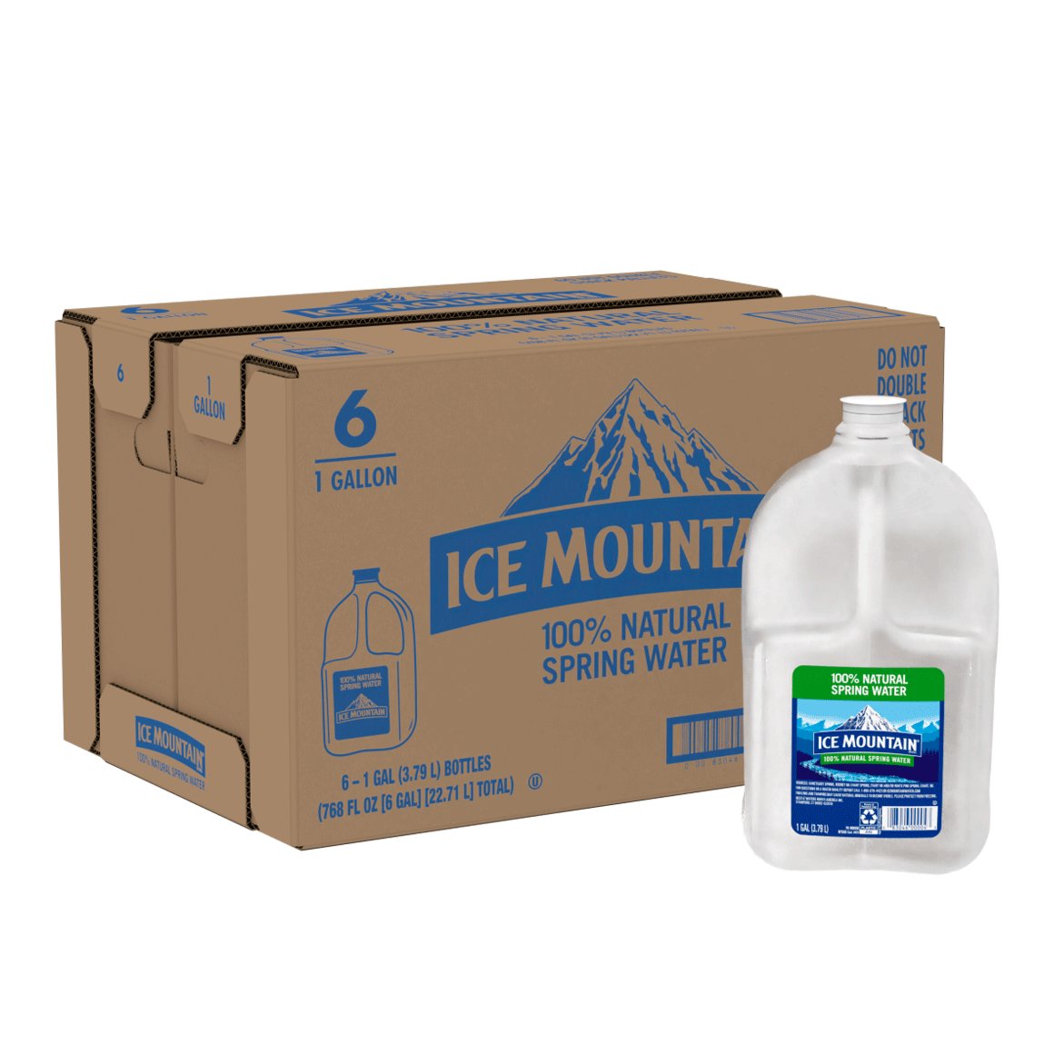 Ice Mountain® 100% Natural Spring Water with Handle
