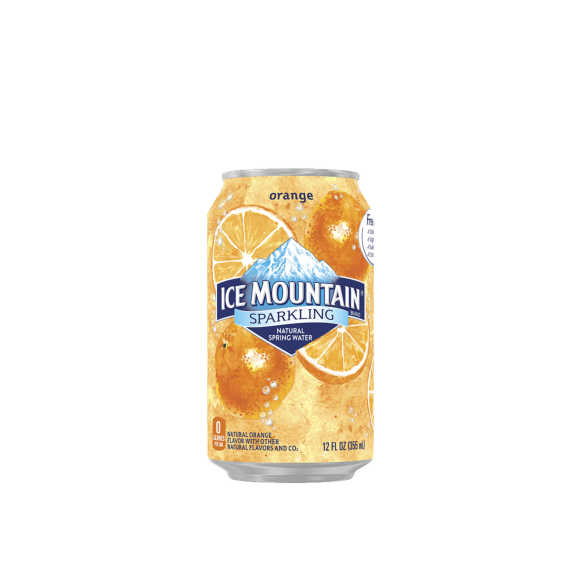 Ice Mountain® Orange Sparkling Water