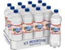 Ice Mountain® Brand Sparkling 100% Natural Spring Water - Ruby Red Grapefruit