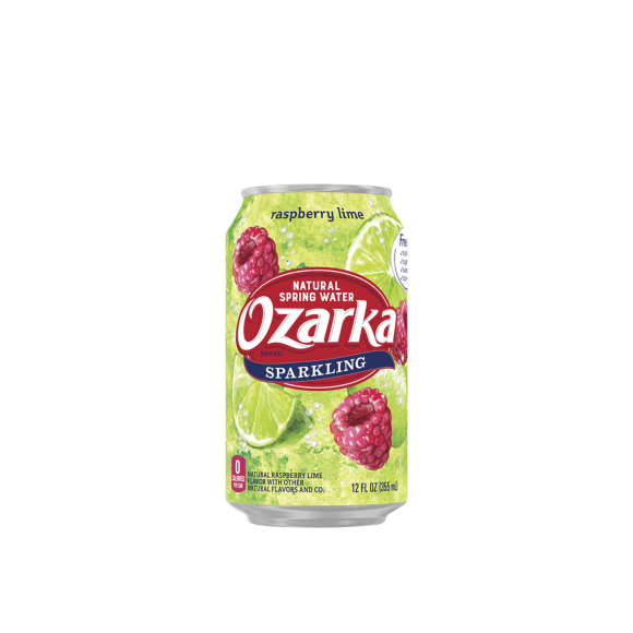 Ozarka® Raspberry Lime Sparkling Water