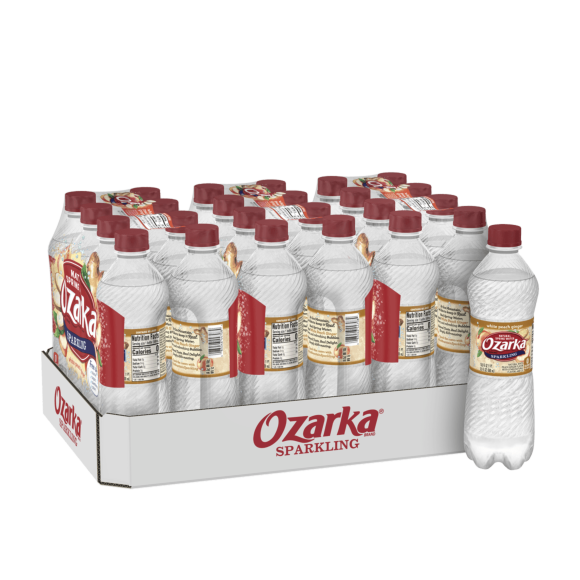 Ozarka® White Peach Ginger Sparkling Water