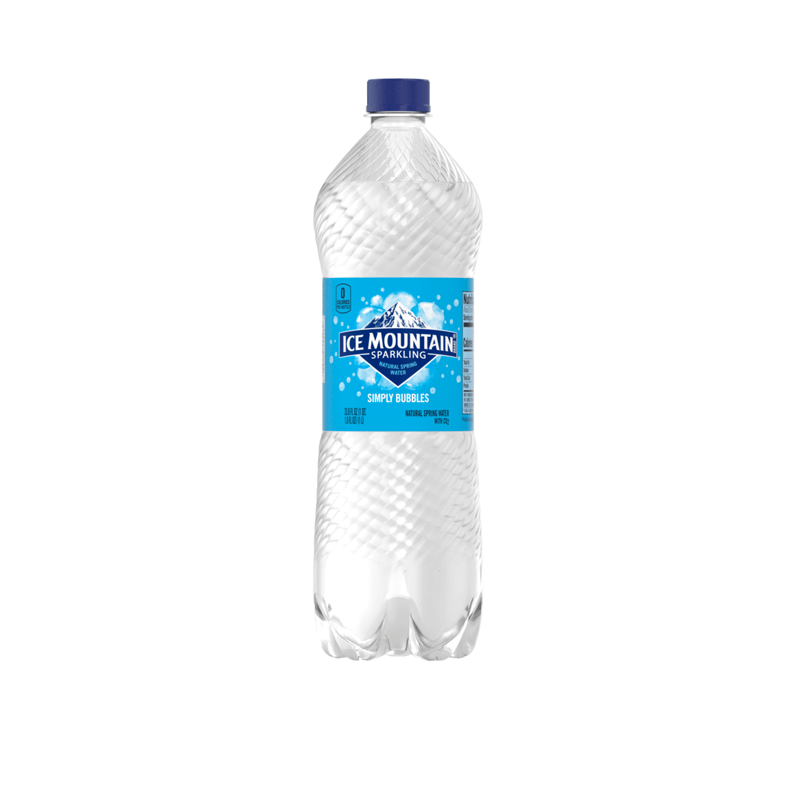 Ice Mountain® Brand Sparkling 100% Natural Spring Water - Simply Bubbles Image2