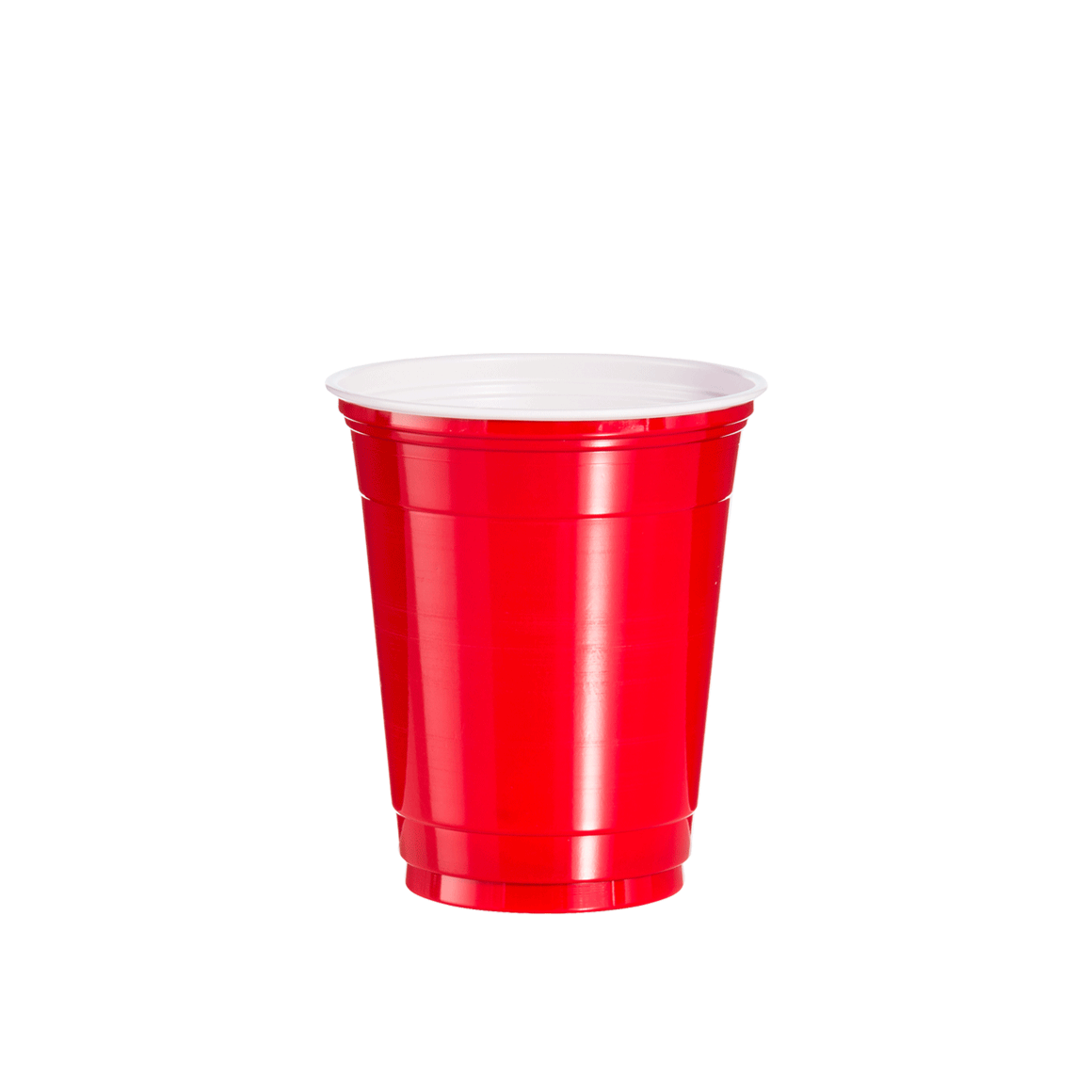 Twelve ounce red solo cup