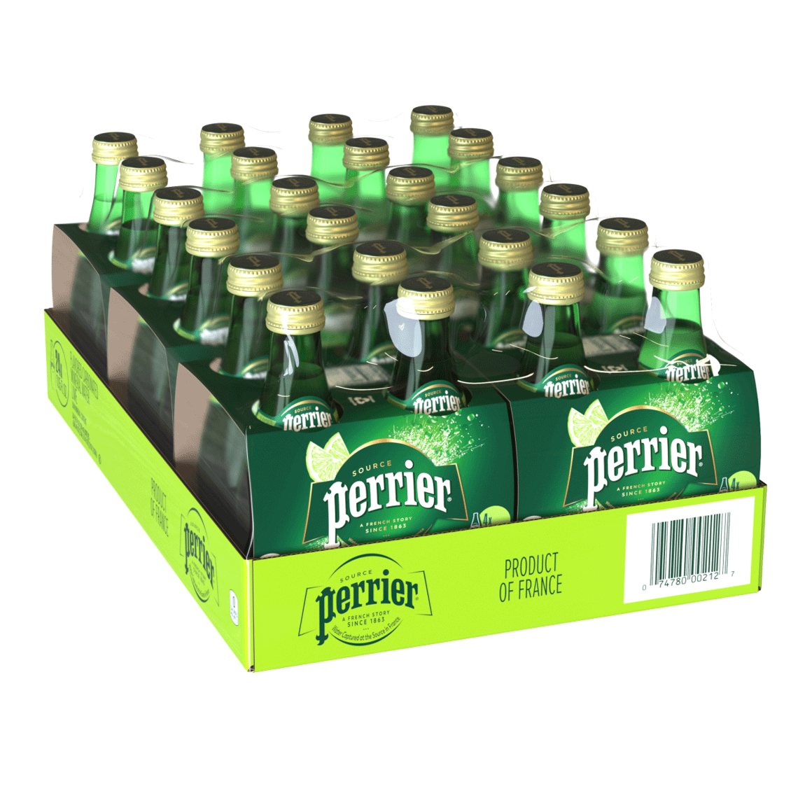 Perrier® Carbonated Mineral Water - Lime Image1