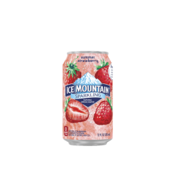 Ice Mountain® Summer Strawberry Sparkling Water