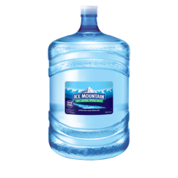 Ice Mountain® 100% Natural Spring Water (Spill Proof) - 5 Gallon - Bottle - Case of 1