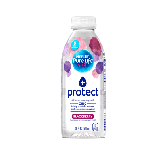 Nestlé®Pure Life®+ Enhanced Flavored Water - Blackberry Image1