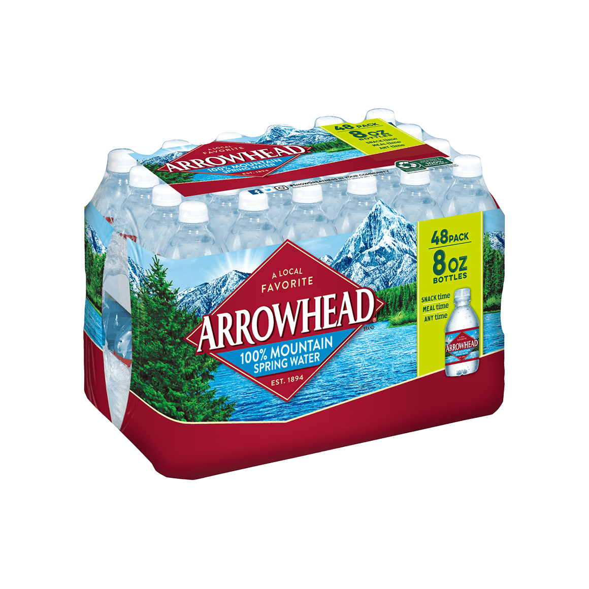 Arrowhead® 100% Mountain Spring Water