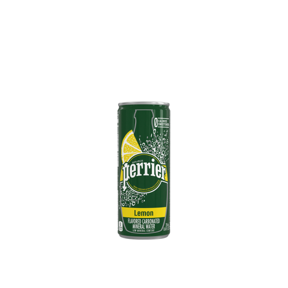 Perrier® Sparkling Carbonated Mineral Water Slim Cans - Lemon