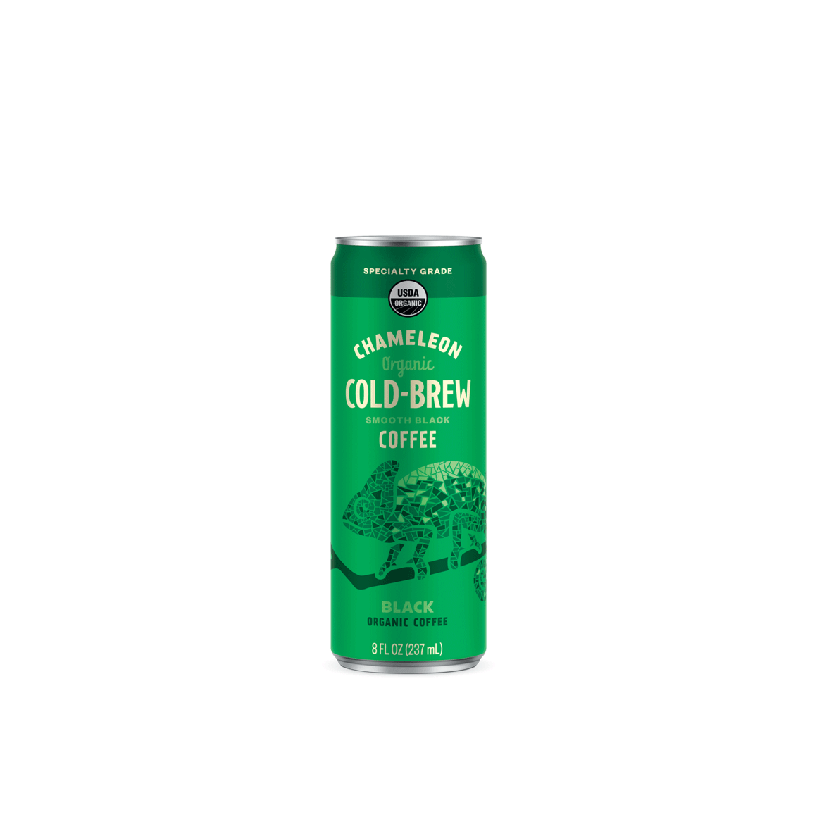 Chameleon Black Original Unsweetened 8 oz Can 12-pack Image1