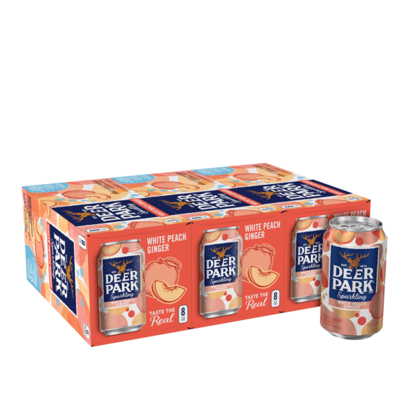 Deer Park® White Peach Ginger Sparkling Water