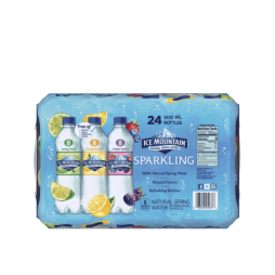 Ice Mountain® Rainbow Flavored Sparkling Water Variety Pack