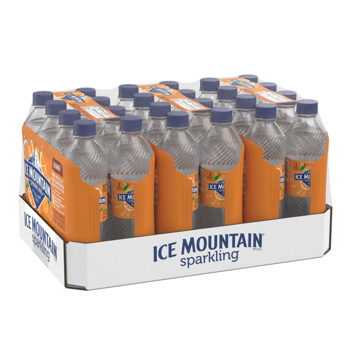 Ice Mountain® Orange Sparkling Water Image1