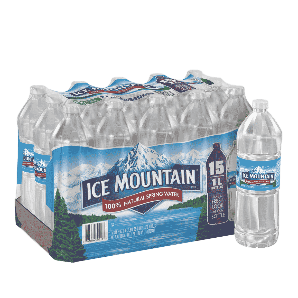 Ice Mountain® 100% Natural Spring Water