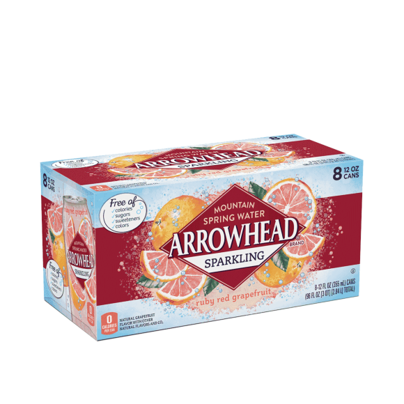 Arrowhead® Ruby Red Grapefruit Sparkling Water