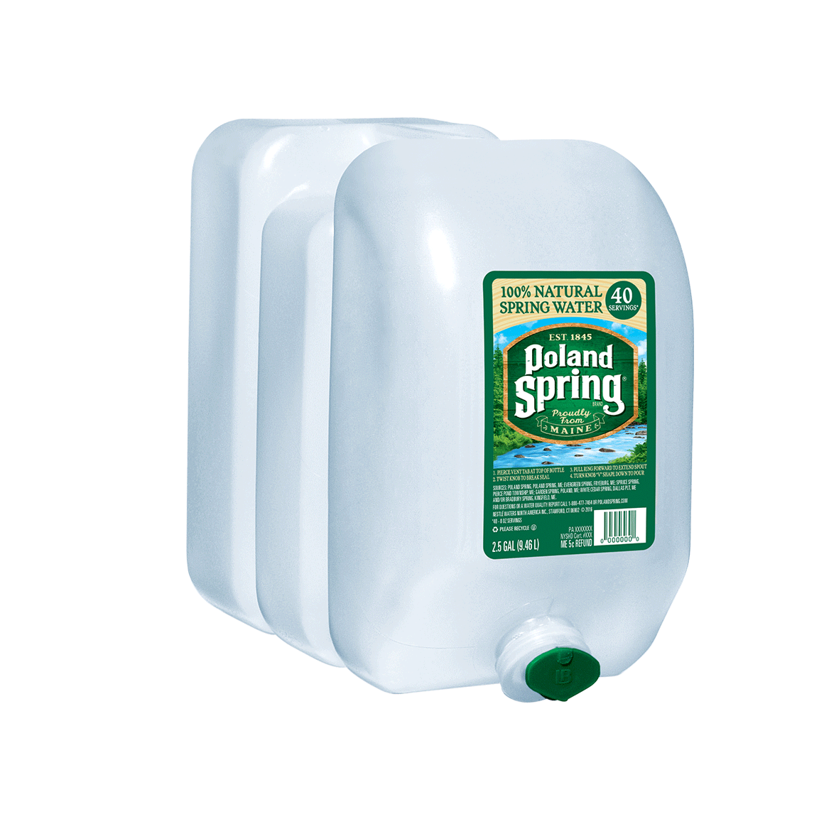 Poland Spring® 100% Natural Spring Water