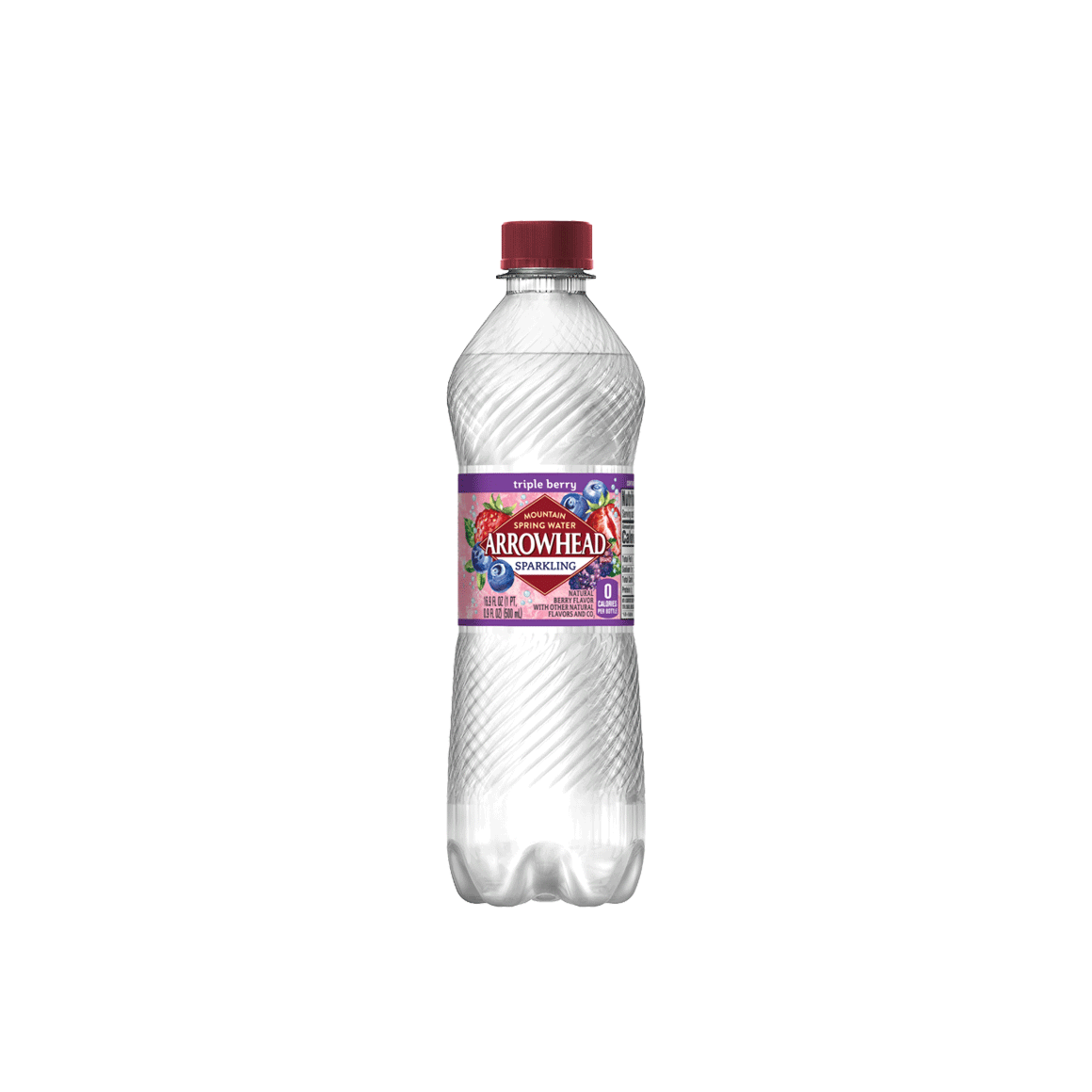 Arrowhead® Brand Sparkling 100% Mountain Spring Water - Rainbow Flavored Variety Pack Image2