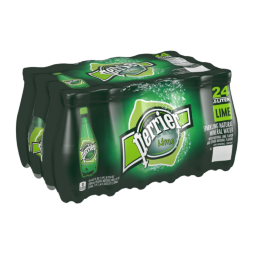Perrier® Carbonated Mineral Water - Lime