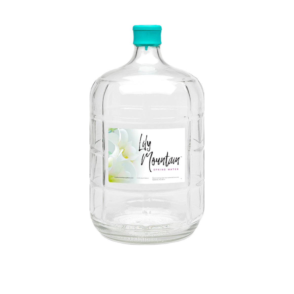 Lily® Mountain Spring Water - 3 Gallon - Bottle - Case of 1