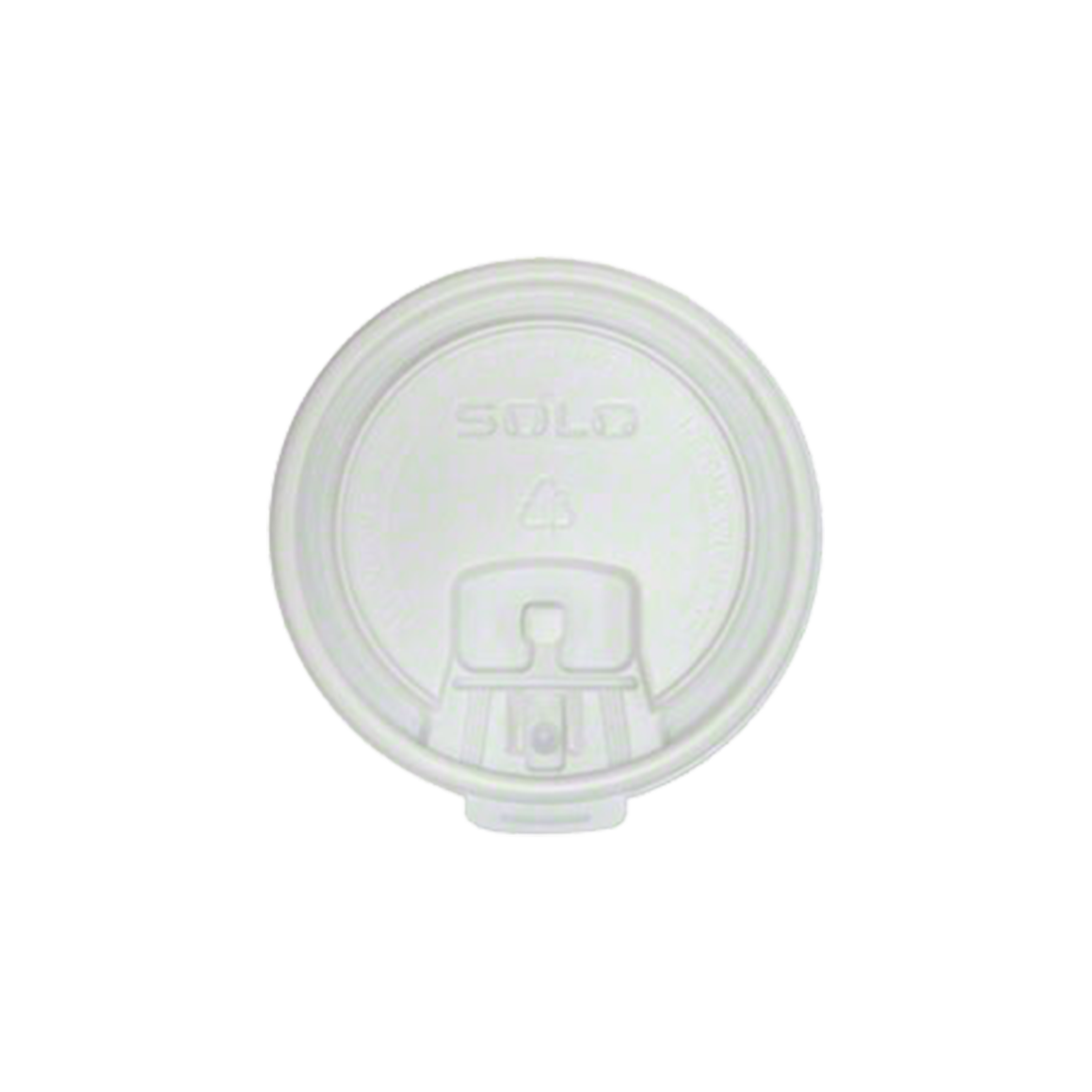 Hot Cup Lids 10 oz. 100 Count - 10 oz. - Sleeve - 1 of 100