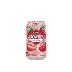 Arrowhead® Brand Sparkling 100% Mountain Spring Water - Summer Strawberry