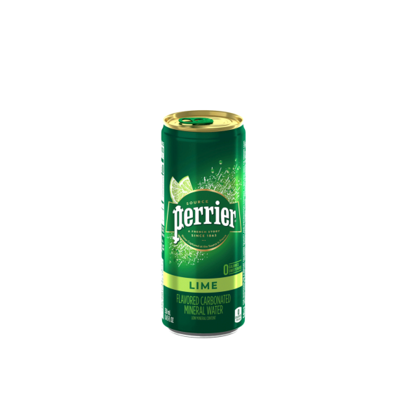 Perrier® Carbonated Mineral Water Slim Cans - Lime Image2